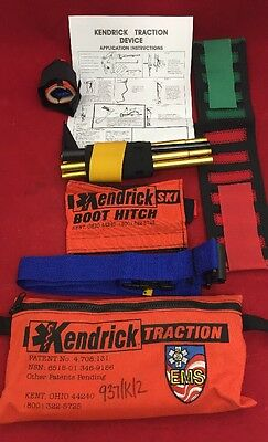 KENDRICK EMS Traction Device w/Ski Boot Hitch In Case