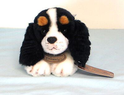 "Russ YOMIKO CLASSICS KING CHARLES SPANIEL 11"" Stuffed Animal Plush"