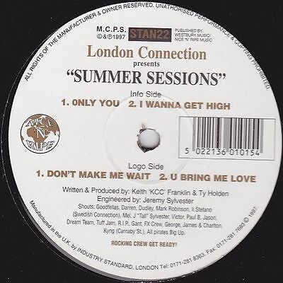 """12"""": London Connection - Summer Sessions - Industry Standard - STAN 22"""