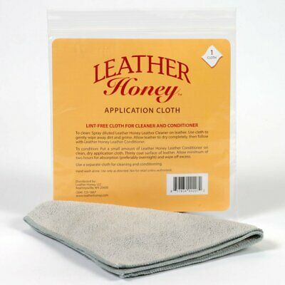 Leather Honey Lint-Free Application Cloth - Perfect for Use with the Best Leathe