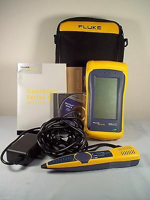 Fluke OneTouch Series II (2) 10/100 Network Assistant + IntelliTone 100 Probe