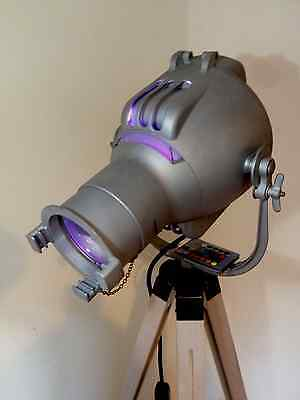 Strand Pat 23 Vintage Theatre Light Lamp & Tripod Stand