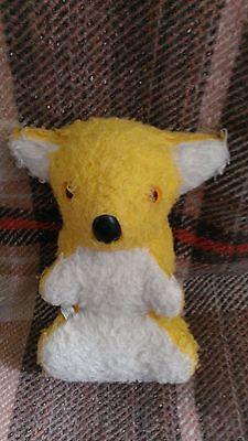 Vintage/Collectable Chad Valley Stuffed Toy Koala Bear, Yellow/White