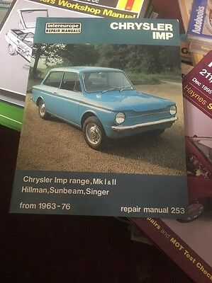 Intereurope Chrysler Imp Manual 63-76 Good Condition