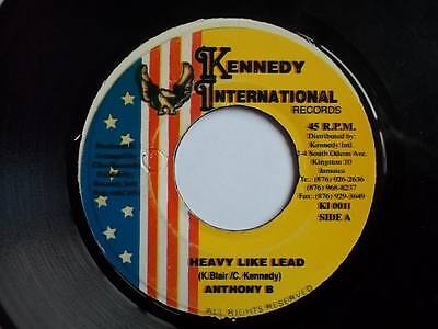"""ANTHONY B Heavy Like Lead 7"""" vinyl Sound Clip in Listing"""