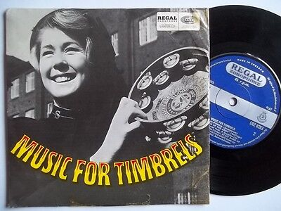"INTERNATIONAL STAFF BAND OF SALVATION ARMY Music for Timbrels 7"" vinyl"