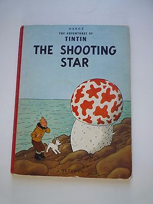 ALBUM ANCIEN TINTIN HERGE THE SHOOTING EO 1ère  EDITION 1961 ETOILE MYSTERIEUSE