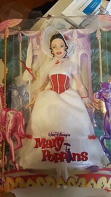 Barbie Mary Poppins Doll Jolly Holiday Julie Andrews Carousel Mattel NEW Disney