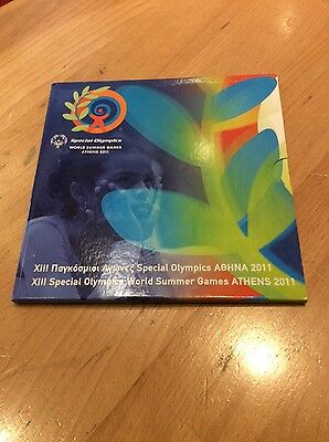 KMS Griechenland 2011 Olympics Games Athens  3,88€ + 10€ BU