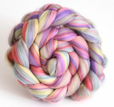 Merino Wool Blend Babyface Pastels   100g 200g Handspinning Combed Wool Top