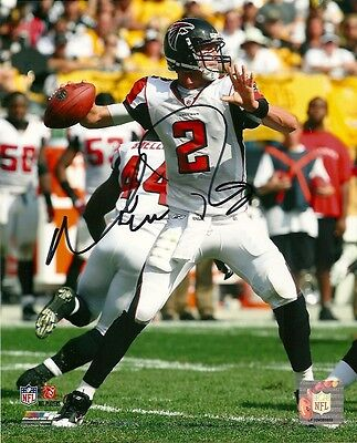 Atlanta Falcons Matt Ryan Autographed Signed 8x10 Photo COA TWO