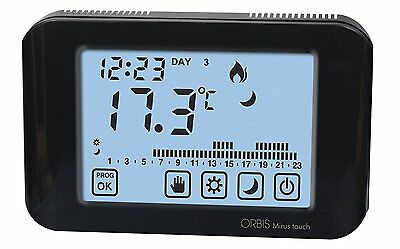 Orbis mirus touch oB325310 thermostat, anthracite