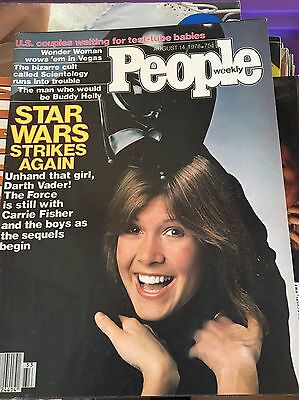 1978 PEOPLE Magazine Cute CARRIE FISHER Darth Vader STAR WARS Cover VERY RARE