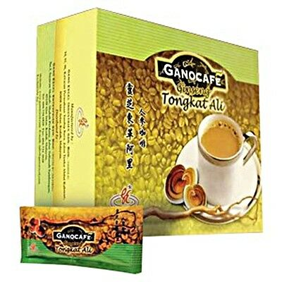 Gano Excel-Ganocafe Tongkat Ali Coffee With Ginseng&ganoderma Extract/15 Sachets