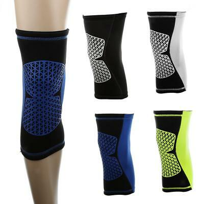Elastic Sports Compression Knee Support Sleeve Leg Calf Patella Injury Brace