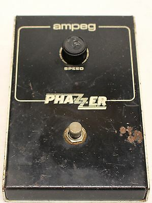 Vintage Ampeg Phazzer 8830 Phaser / Shifter Effects FX Pedal Stompbox
