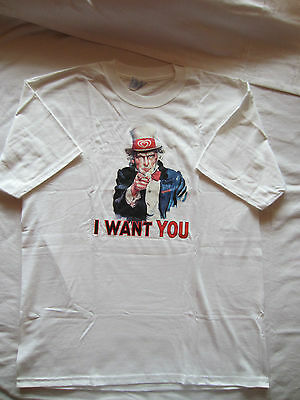 "Shirt ""I WANT YOU"" Gr. XL"