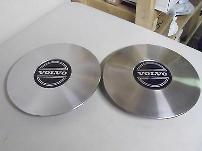 Set Of 2 Used Volvo Hubcaps