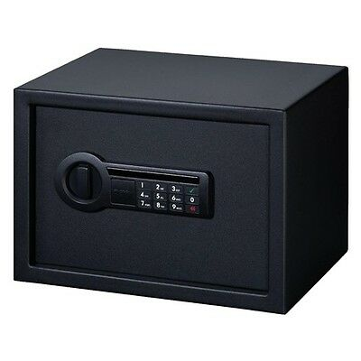 New! Stack-On Med Personal Safe Electronic Lock Black with Electronic Lock PS514
