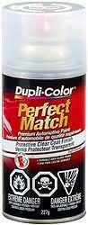 Duplicolor BCL0125; Touch Up Body Paint; Clear Top Coat; 8oz