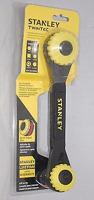 Stanley Twintec Ratcheting Socket Wrench Adjustable SAE AND METRIC