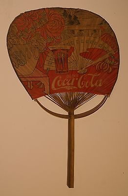 Coca Cola Chinese Style Hand Fan 1900-1912