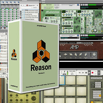 Propellerhead Reason 7 Music Production Software Educational Edu Student Teacher