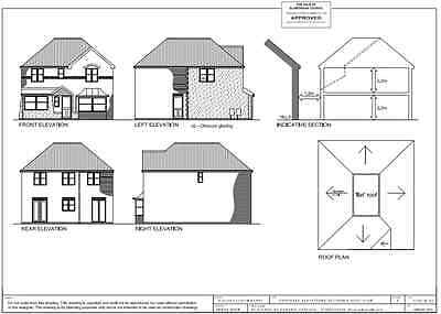 Planning permission drawing service