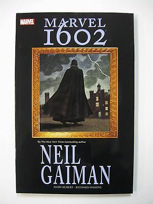 *Marvel 1602 and Eternals by Neil Gaiman (Cover $45)