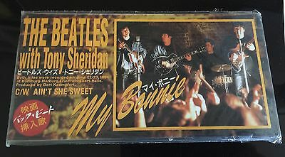 RARE The Beatles! My Bonnie/Ain't She Sweet-JAPAN 8cm CD-Single NEW and SEALED