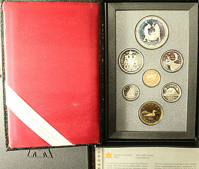 1988 Double Dollar Canada Proof Set In Original Packaging Ironworks