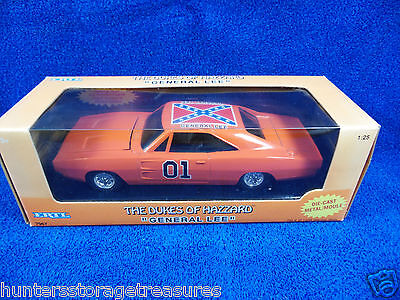 DUKES OF HAZZARD GENERAL LEE NIB Dodge Charger Ertl 1:25 Scale New In Box!