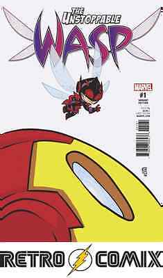Marvel The Unstoppable Wasp #1 Young Variant New/unread Bagged & Boarded