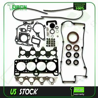 SCITOO Compatible with Cylinder Head Gasket Set for Kia Rio5 Hyundai Accent 1.6L 06-11 DOHC 16 Engine Head Gaskets Kit Sets
