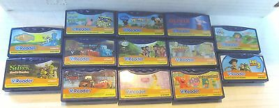 Lot of 13 VTech VReader Cartridges Games Little Engine Olivia Whats That Noise +