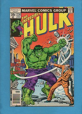 The Incredible Hulk #226 Doc Samson Marvel Comics August 1978