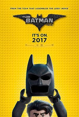 THE LEGO BATMAN MOVIE 11x17 Movie Poster collectible