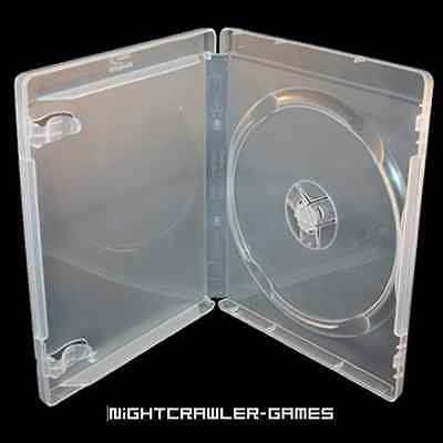 (1) Sony PlayStation 3 Clear REPLACEMENT Empty Game Case  # NEW #