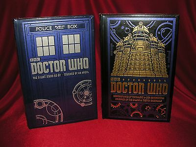 Doctor Who - 2 Book Collectible Set - Leather Bound