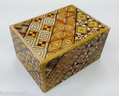 By OKA 3sun Standard 12steps Yosegi-Japanese Puzzle Box-Made in JAPAN Brand NEW