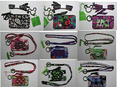 Vera Bradley Lanyard and Zip ID Case  ~~~~NWT~~~~