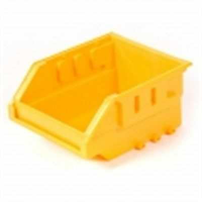 2x Handy Storage TOTE Wall Mountable, Stackable YELLOW*Aust Brand- Size 10 Or 20