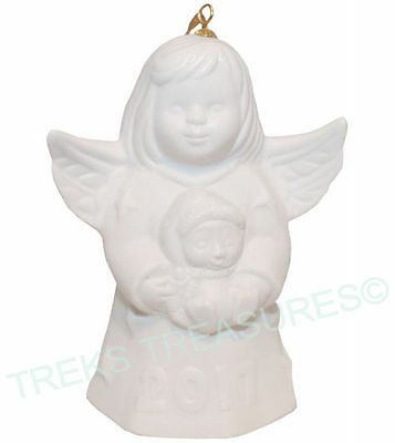 2017 Goebel Annual Angel Bell.. White - 42nd Edition