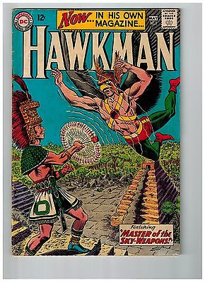 Hawkman # 1 VG-FN DC Comic Book Silver Age 1st Solo Series Issue M Anderson WT99