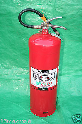 Fire Extinguisher 9.1Ltr 2A Water Refillable