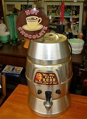 Original Vintage Helmco Hot Chocolate Dispenser Coffee Pot Restaurant Machine