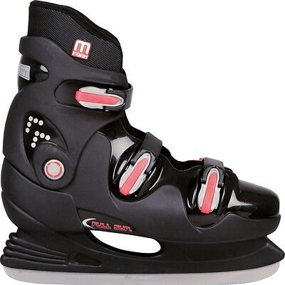 Nijdam Ice Hockey Skates Boots Shoes Unisex Blades Sharpened Size 38 0089-ZZR-38