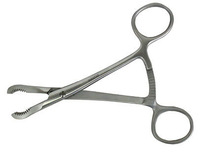 "Ratchet with Reduction Bone Holding Forceps 5.5"" Orthopedic Surgical Instrument"