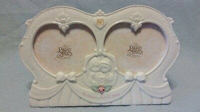 Precious Moments 50th Anniversary Double Heart 1995 Picture Frame 169064