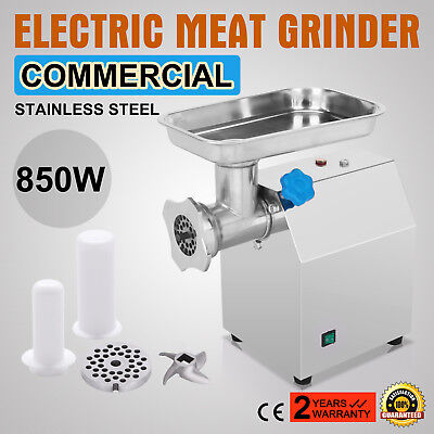 Stainless Steel Electric Meat Grinder Brand New Kitchen Mincer Sausage Maker